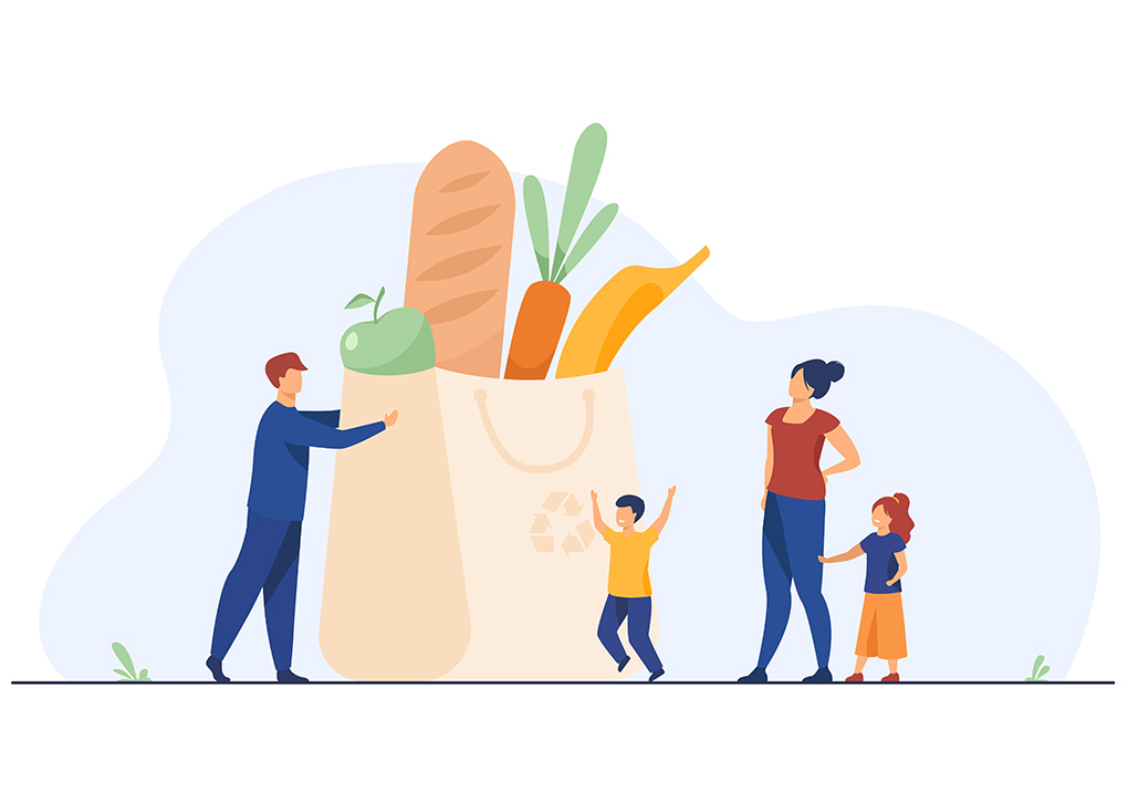 cibo e cure materne
